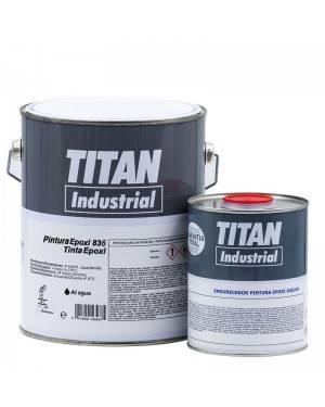 Resina epossidica industriale per acqua sanitaria Titan 836 Titan
