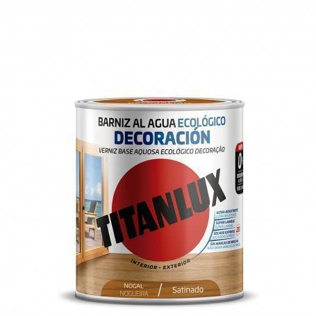 Ecological water-based varnish Decoration Satin Titanlux