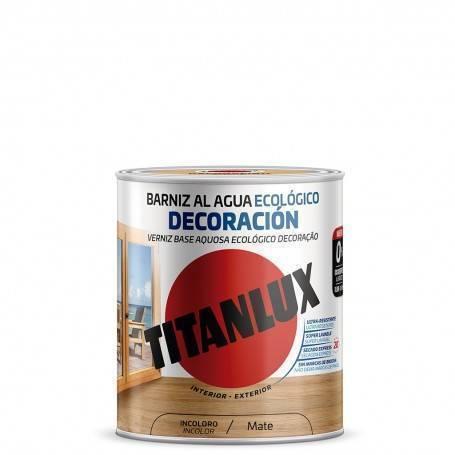 Ecological water-based varnish Decoration Matt Titanlux