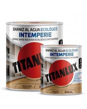 Titan Barniz al agua Ecológico Intemperie Brillante Titanlux