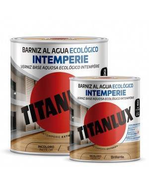 Vernis à base d'eau Titan Vieillissement écologique brillant Titanlux