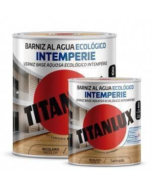 Titan Barniz al agua Ecológico Intemperie Satinado Titanlux