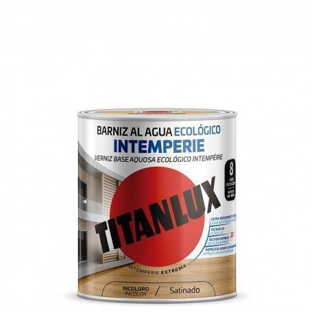 Ecological Outdoor Water-based Satin Varnish Titanlux