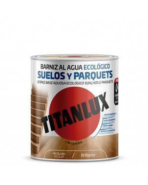 Ecological water-based varnish Wooden floors Shiny Titanlux