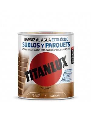 Titan Barniz al agua Ecológico Suelos y Parquets Satinado Titanlux