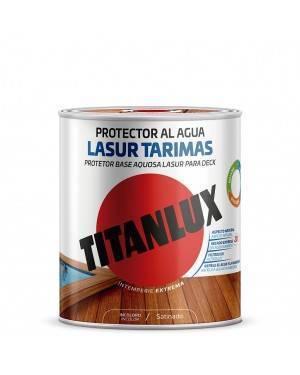 Revêtement de sol à l'eau satiné Titan Lasur Titanlux