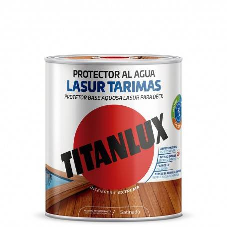 Water-based anti-slip satin wood protector for wooden floors Titanlux