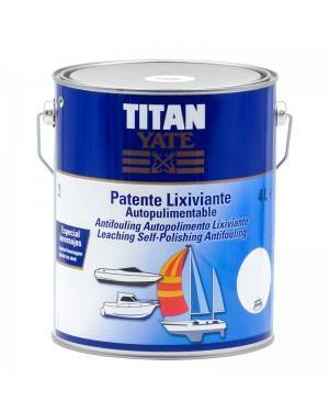 Titan Yacht Patent Auto-polimento Lixiviação Titan 4 L