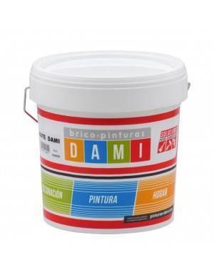 Dami Paints Peinture Plastique Dami Blanc Mat