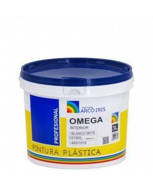 Rainbow pinta tinta plástica fosca Omega Rainbow