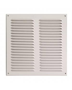 Rejilla Ventana Aluminio Sin Pestaña 10X20 Blanca