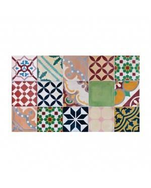 Alfombra Croma Mosaico Color 45X75 Cm