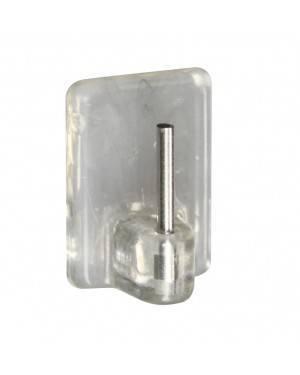 Colgador Visillo Adhesivo Transparente 4 Unidades