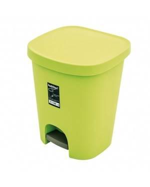 Cubo Pedal 25 L Verde Habitex