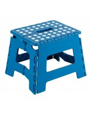 Taburete Plegable 25X20X21 Cm Azul