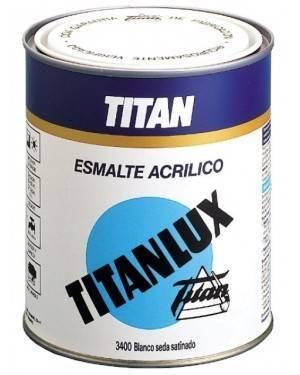 Esmalte Acrílico Satinado Titanlux Blanco