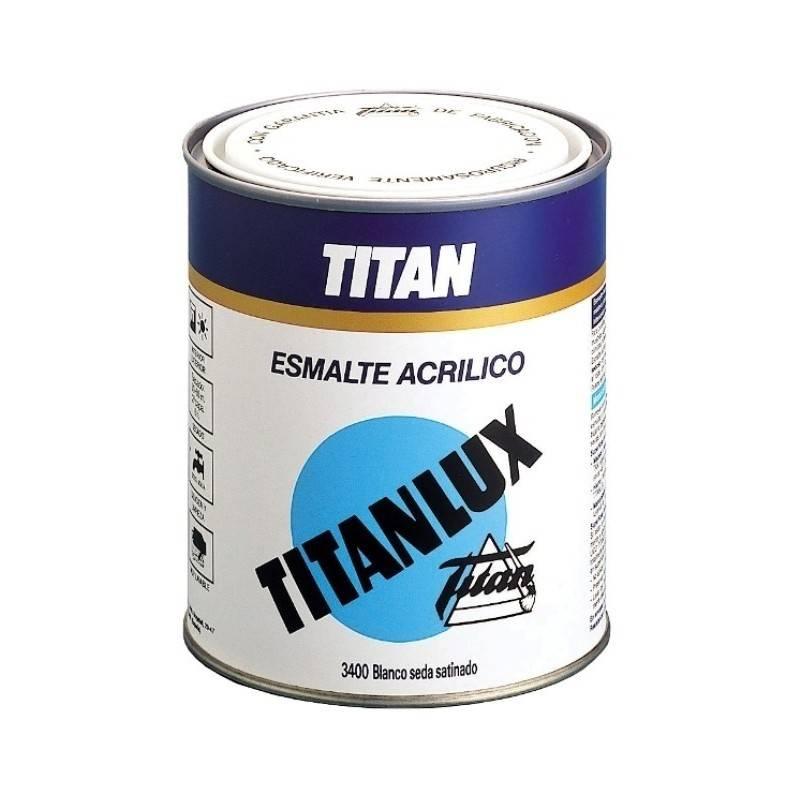 Titanlux esmalte al agua satinado blanco - Esmalte para madera ...