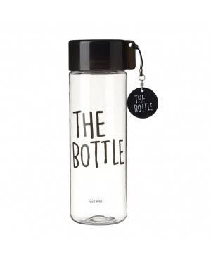 Botella Tritan The Bottle 550 Ml Negra