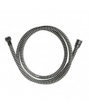 Flexo Ducha Coaflex Negro-Cromo 1,70M Habitex