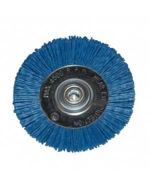 Cepillo Nylon Azul Circular 100 Mm Ratio