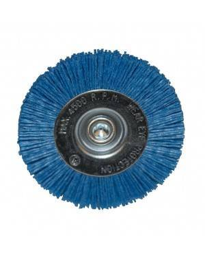 Cepillo Nylon Azul Circular 100 Mm Ratio