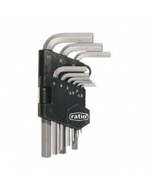 Llaves Allen Set 9 Piezas 1.5-10 Mm Ratio