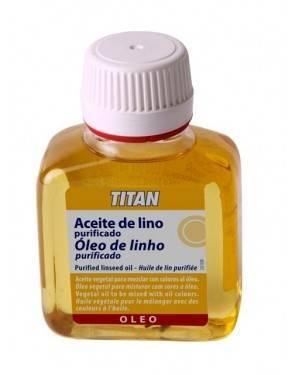 Titan Arts Aceite de Lino Purificado Titan