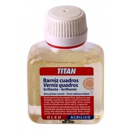 Titan Barniz Cuadros Brillante Titan