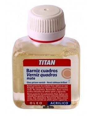 Titan Arts Barniz Cuadros Mate Opal Titan