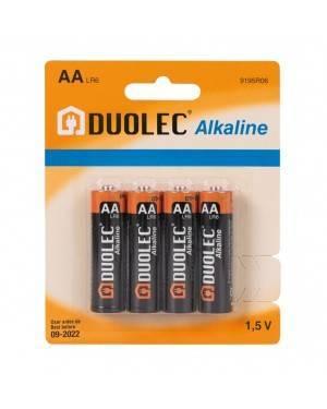 Blíster 4 Pilas Alcalina Aa Lr06 Duolec