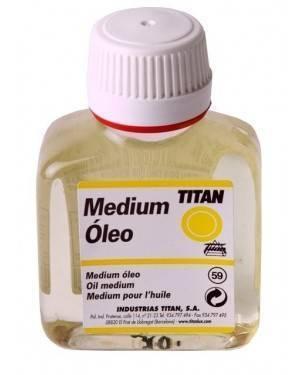 Titan Medium per colori a olio Titan