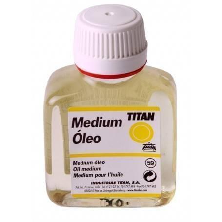 Titan Arts Medium para Colores al Óleo Titan