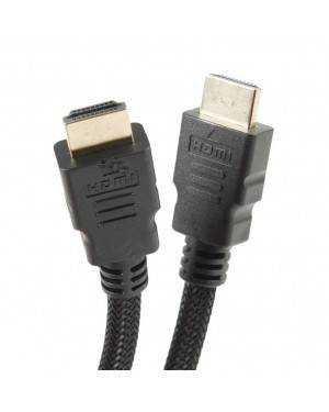 Cable Hdmi 1.4 1,7M Malla Trenzada Negro