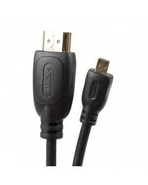 Cable Hdmi-A A Micro Hdmi-D 1,5M Negro