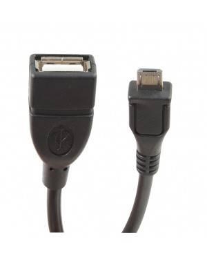 Cable USB Micro A USB-A Hembra 2.0 15Cm