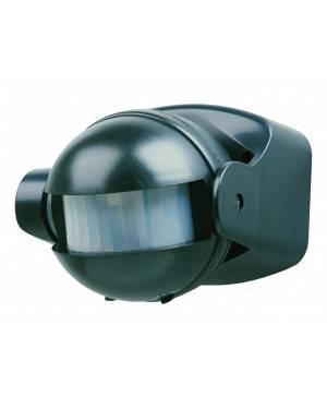 Detector Automático Movimiento Interior/Exterior Negro