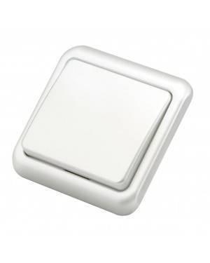 Interruptor/Conmutador Empotrable Blanco