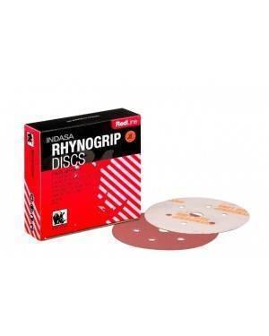 Indasa Disc Lija 150 mm Rhynogrip Linha Vermelha Indasa