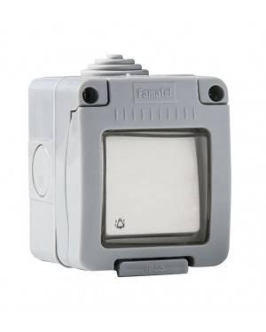 Pulsador Timbre Estanco 10A-250V Duolec