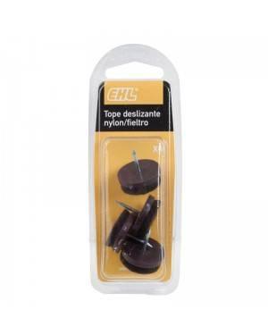 EHL Nylon / Felt Slider 25 Mm 4 Units Ehl