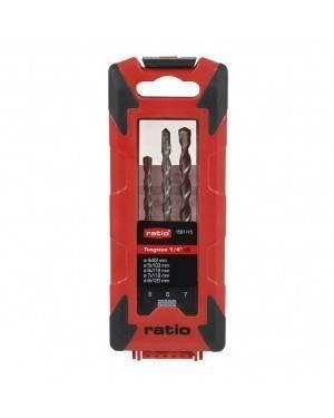 RATIO Drill Bits Set 5 Units Cordless Ratio