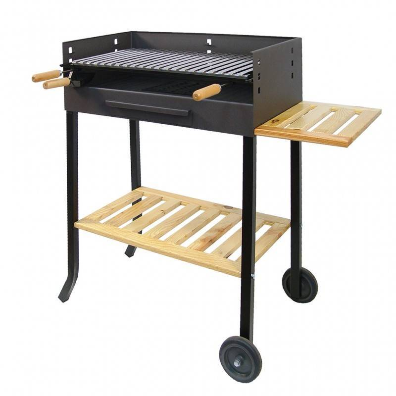 Imex El Zorro Barbecue wheels with stainless steel grill IMEX EL ZORRO