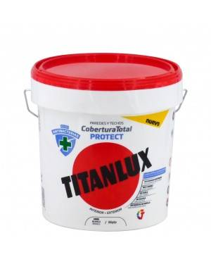 Vernice Antibatterica Titan White Copertura totale Protegge Titanlux