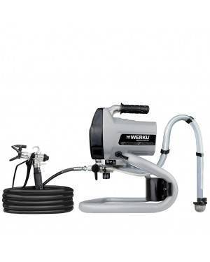 Werku Tools Équipement airless électrique 1,2 L 500W 0,6 HP WK500500