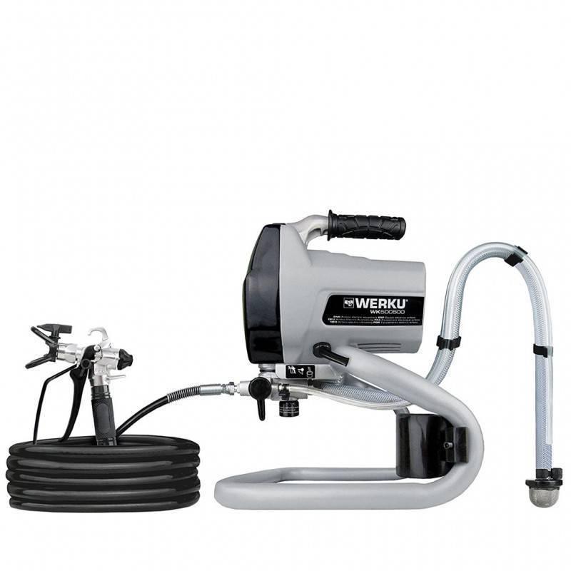 Werku Tools Electric airless equipment 1.2 L 500W 0.6 HP WK500500