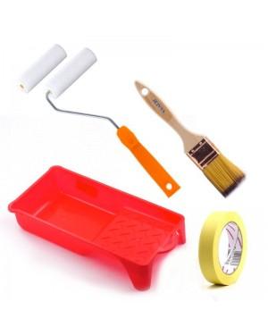 Acessórios do kit de tintas Dami Mini esponja de esmalte