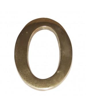 Número de latão EHL para portal de construção