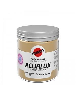 Titan Pintura al agua Acualux Colores Metalizados Titanlux
