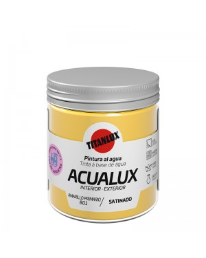 Titan Water-based paint Acualux Yellow Colors Titanlux