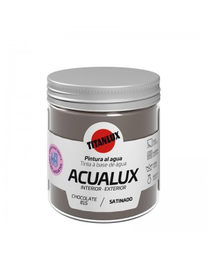 Titan Water-based paint Acualux Brown Colors Titanlux